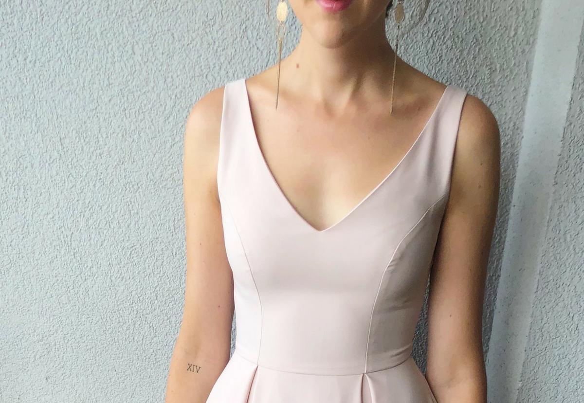 sukienka świadkowa
